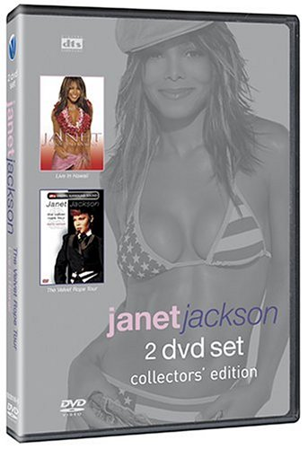 Janet Jackson: Live In Hawaii: The Velvet Rope Tour DVD Image
