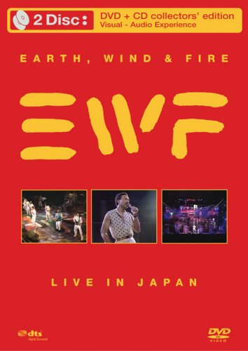 Earth, Wind & Fire: Live In Japan (DVD/CD Combo) DVD Image