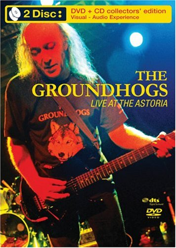 Groundhogs: Live At The Astoria (DVD/CD Combo) DVD Image
