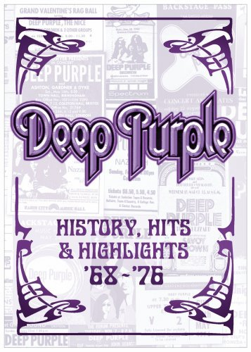 Deep Purple: History, Hits & Highlights 1968-1976 (2-Disc) DVD Image