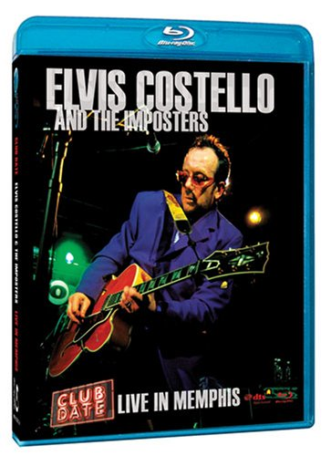 Elvis Costello And The Imposters: Club Date: Live In Memphis (Blu-ray) DVD Image