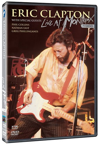 Eric Clapton: Live At Montrenx 1986 DVD Image