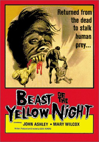 Beast Of The Yellow Night (Old Version) DVD Image