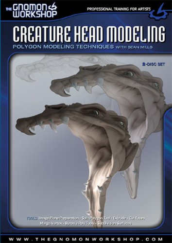 Creature Head Modeling DVD Image