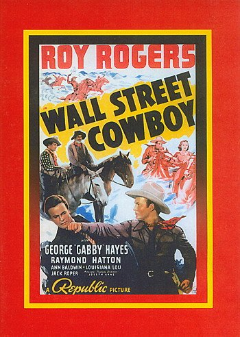 Wall Street Cowboy (Sinister Cinema) DVD Image