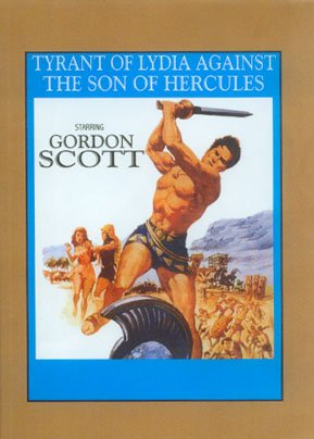Tyrant Of Lydia Against The Son Of Hercules DVD Image