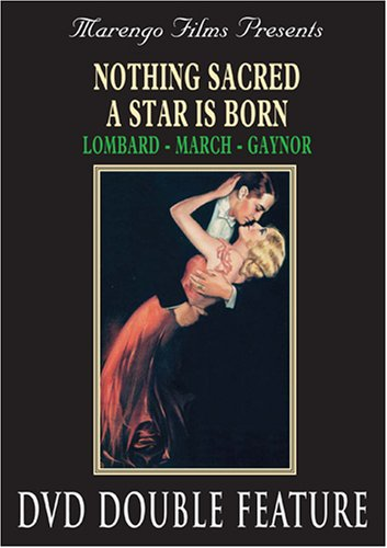 Star Is Born (1937/ Marengo) / Nothing Sacred DVD Image