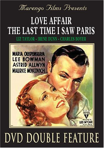 Love Affair 1939/ Marengo) / The Last Time I Saw Paris DVD Image