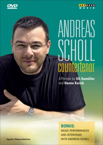 Andreas Scholl: Countertenor: A Portrait By Uli Aumuller And Hanne Kaisik DVD Image