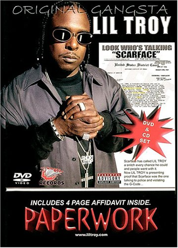 Lil Troy: Paperwork Subject Scarface (DVD/CD Combo) DVD Image