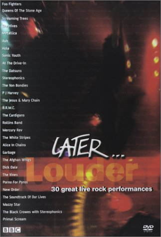 Later...Louder DVD Image