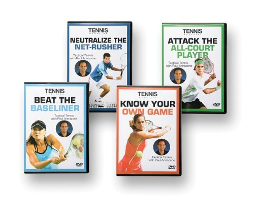 Tennis Magazine: Tactical Tennis Complete Collection DVD Image