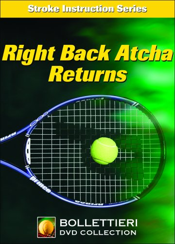Nick Bollettieri's Stroke Instruction Series: Right Back Atcha Returns DVD Image