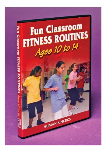 Fun Classroom Fitness Routines: Ages 4 To 9 DVD Image