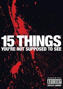 15 Things You're Not Supposed To See (Mantra Films) DVD Image