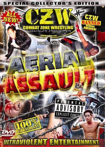 CZW [Combat Zone Wrestling] (Mantra Films): Aerial Assault DVD Image