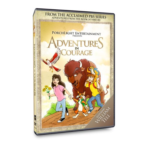 Adventures From The Book Of Virtues: Adventures In Courage DVD Image