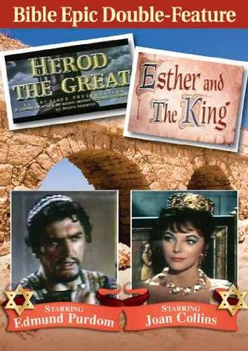 Herod The Great (Total-Content) / Esther And The King DVD Image