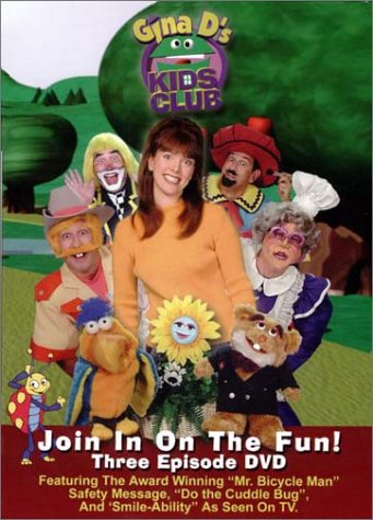 Gina D's Kids Club: Join In On The Fun DVD Image