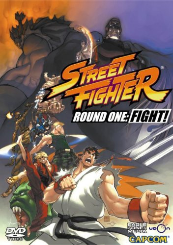 Street Fighter: Round One: FIGHT! DVD Image