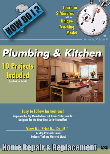 How Do I: Plumbing And Kitchen DVD Image