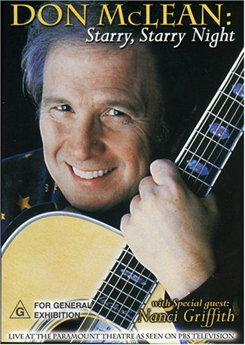 Don McLean: Starry, Starry Night (Musicrama) DVD Image