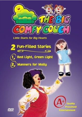 Big Comfy Couch (Big Comfy Couch): Red Light, Green Light / Manners For Molly DVD Image