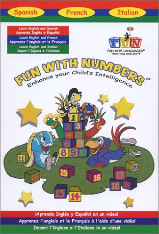 Fun With Numbers: Teaches English, Spanish,French And Italian DVD Image