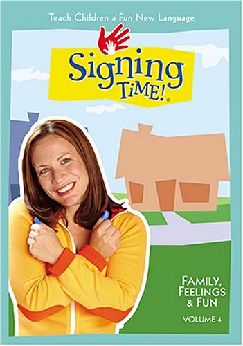 Signing Time!, Vol. 04: Family, Feelings & Fun DVD Image