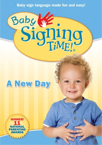 Baby Signing Time!, Vol. 3: A New Day DVD Image