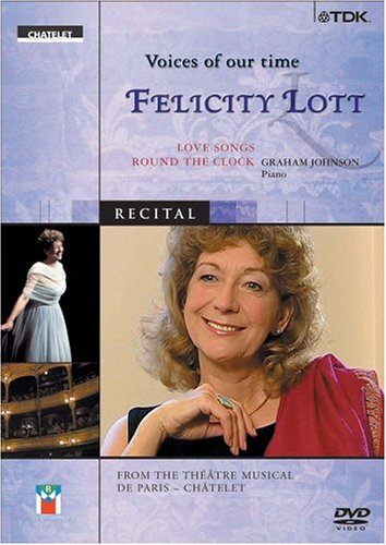 Voices Of Our Time: Felicity Lott DVD Image