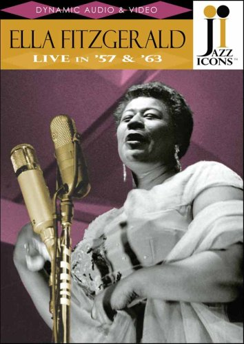 Jazz Icons: Ella Fitzgerald: Live In '57 & '63 DVD Image