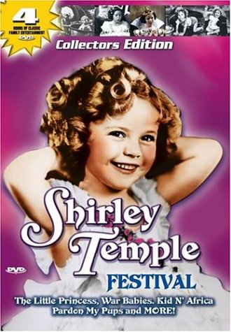 Shirley Temple Collection (Vintage Home Entertainment): War Babies / Kid 'N Africa / Dora's Dunkin' Doughnuts / Pardon My Pups DVD Image