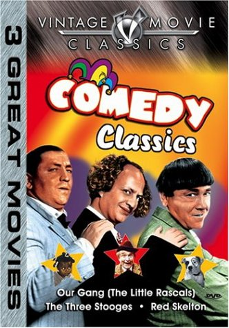 Comedy Classics: Little Rascals / The Three Stooges / Red Skelton DVD Image