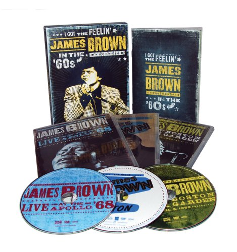 James Brown: I Got The Feelin': James Brown In The '60s (3-Disc) DVD Image
