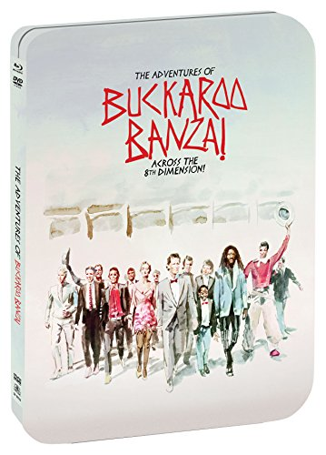 The Adventures Of Buckaroo Banzai Across The 8th Dimension [Limited Edition Steelbook] [Blu-ray] DVD Image