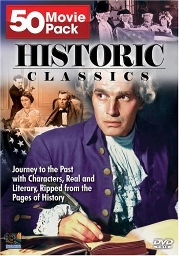 Historic Classics: 50 Movie Pack: Constantine And The Cross / A Bolt Of Lightning / David Copperfield / ... DVD Image