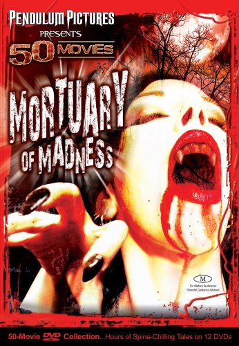 Mortuary Of Madness 50 Movie Pack DVD Image