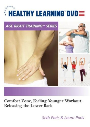 Comfort Zone, Feeling Younger Workout: Releasing The Lower Back DVD Image