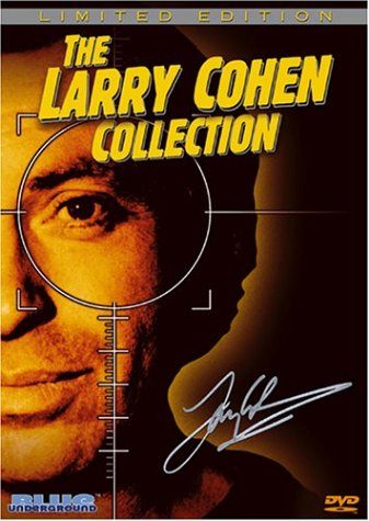 Larry Cohen Collection: Q: The Winged Serpent / God Told Me To / Bone DVD Image