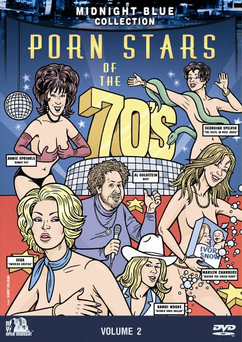 Midnight Blue Vol. 2 - Porn Stars of the 70's DVD Image