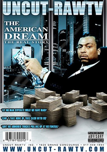 Uncut-RawTV: The American Dream DVD Image