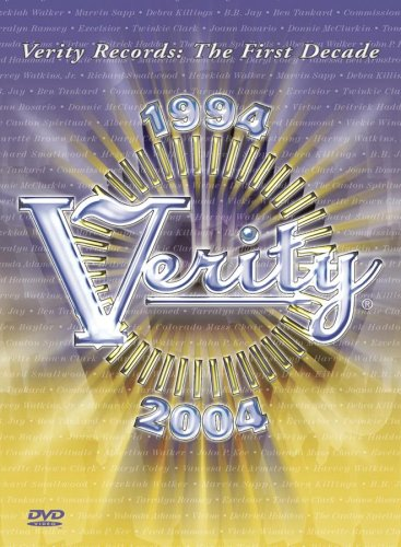 Verity: First Decade DVD Image