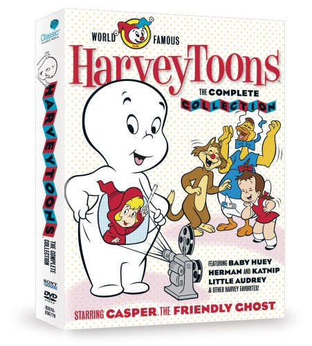 Harvey Toons: The Complete Collection: Casper the Friendly Ghost / Wendy the Good Little Witch / Little Audrey / Baby Huey / ... DVD Image