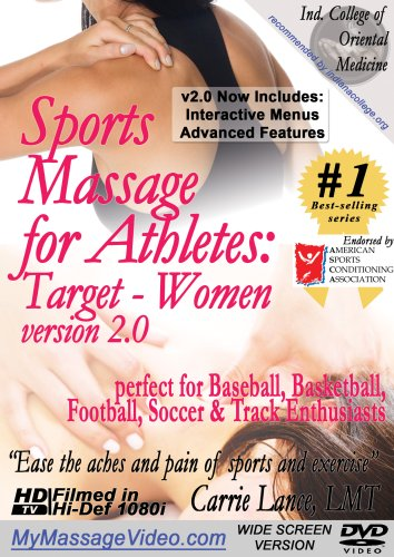 Sports Massage For Athletes: Target Women, V2.0 DVD Image