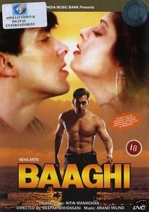 Baaghi DVD Image
