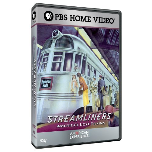Streamliners: America's Lost Trains: The American Experience DVD Image
