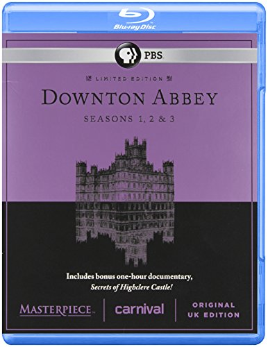 Masterpiece Classic Downton Abbey Season 1 2 and 3 ( Blue Ray) [Blu-ray] DVD Image