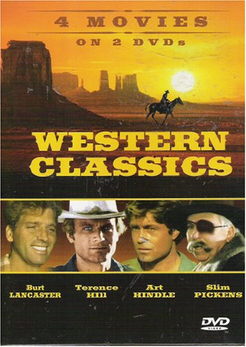 Western Classics: 4 Movies on 2 DVDs DVD Image