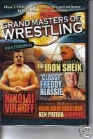 Grand Masters of Wrestling Volume 2 DVD Image